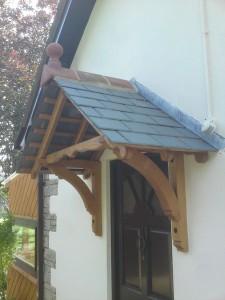 Bespoke hand made porch