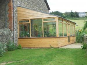 Handmade Conservatory Devon