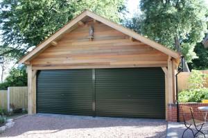 Bespoke Handmade garage