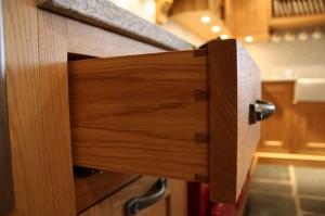 Handmade kitchen drawers