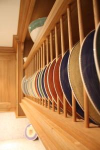 Handmade Kitchen Plate Racks