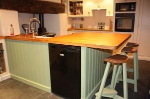 hand made kitchen
