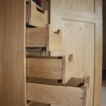 Handmade cupboards storage devon