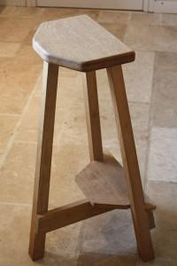 Handmade bar stool