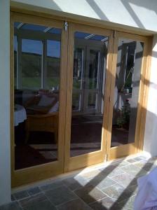 Handmade Patio Doors