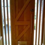hand made front door