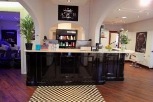 Bespoke Salon Reception Andrew Hill Salon